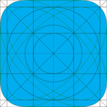 Initial comparison of geometrically derived ellipse with an algorithm generated mask from Mike Swanson.