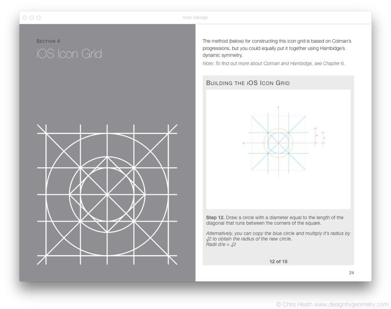 iOS Icon Grid