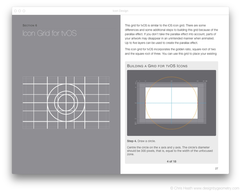 Icon Grid for tvOS