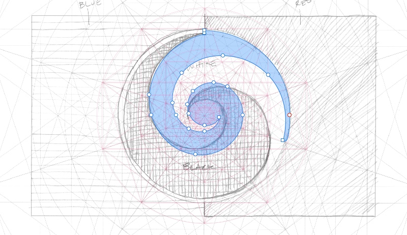 Inclusive Koru with Grid