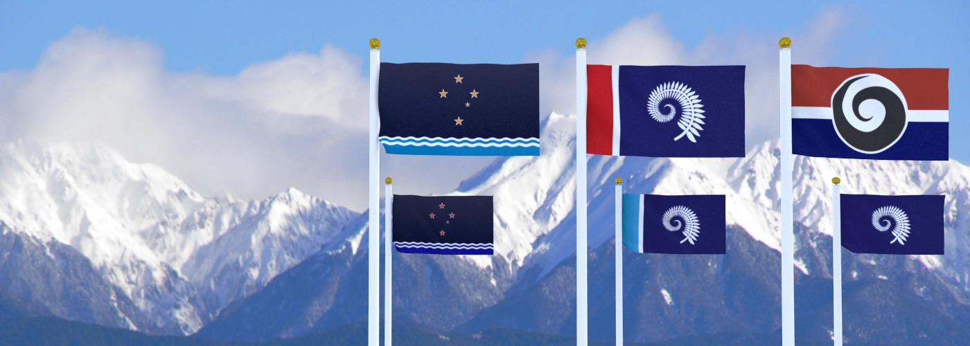 Flags for New Zealand