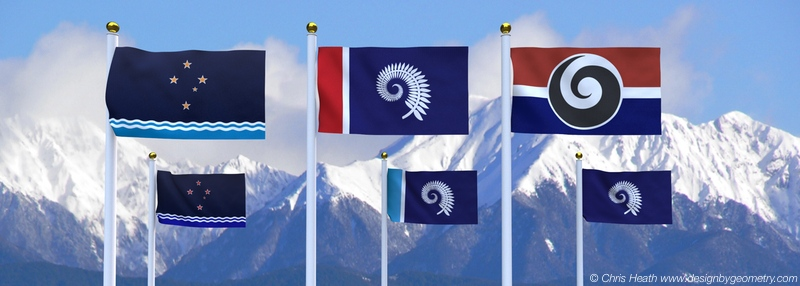 Flags Designs for New Zealand