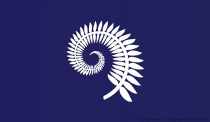 Silver Fern and Blue Koru