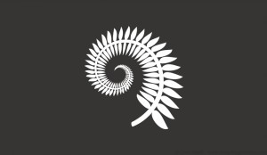 Silver Fern and Grey Koru