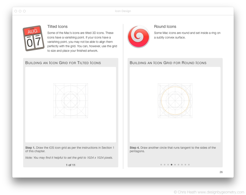 OS X Icon Grids