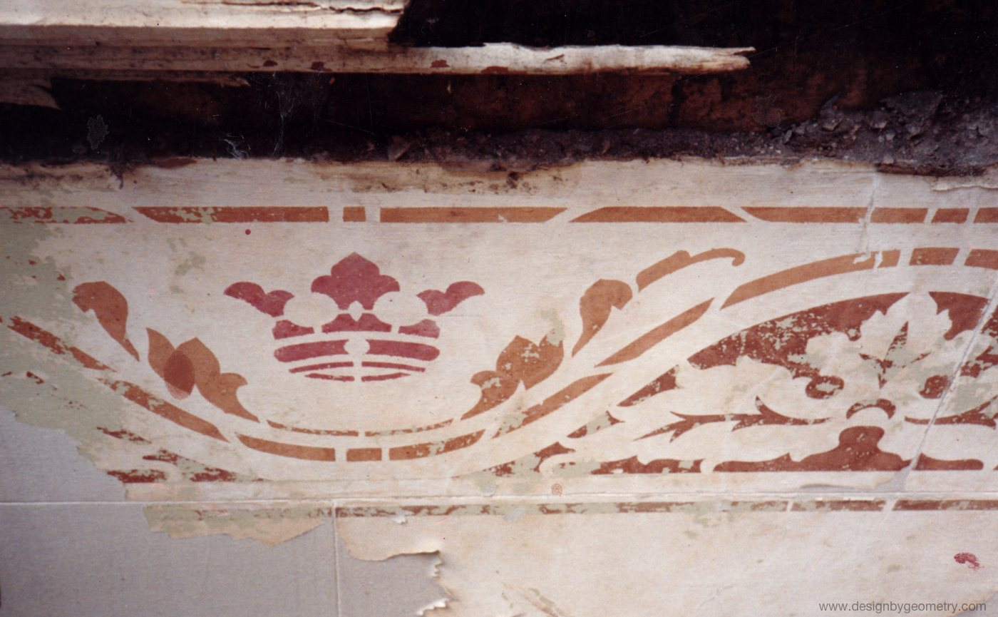 The Original Stencilled Frieze