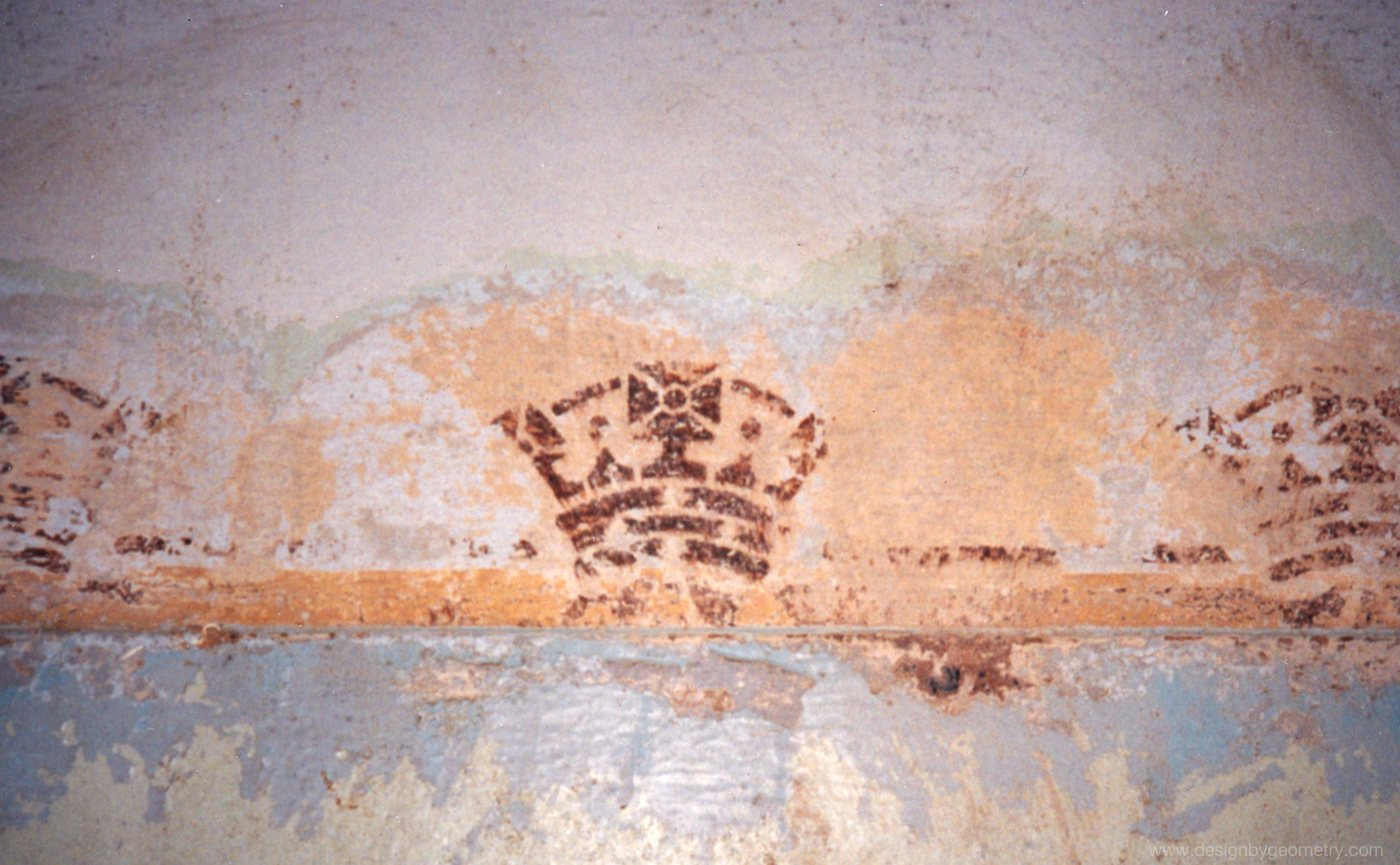 Original Crown Stencil Located in the Entrance to the Old High Court