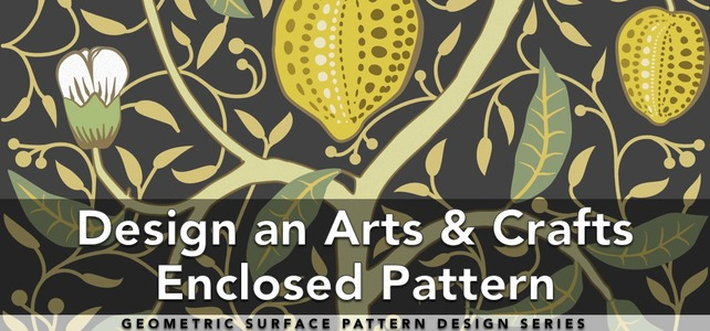 Design an Arts & Crafts Decorative Pattern
