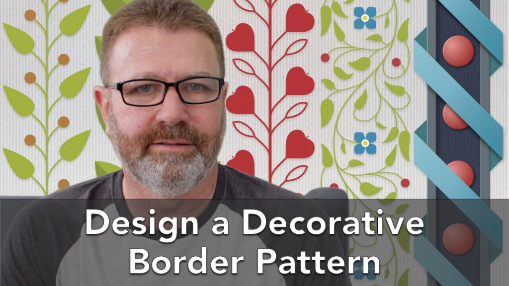 Design a Decorative Border Pattern