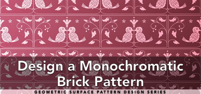 Design a Monochromatic Brick Pattern