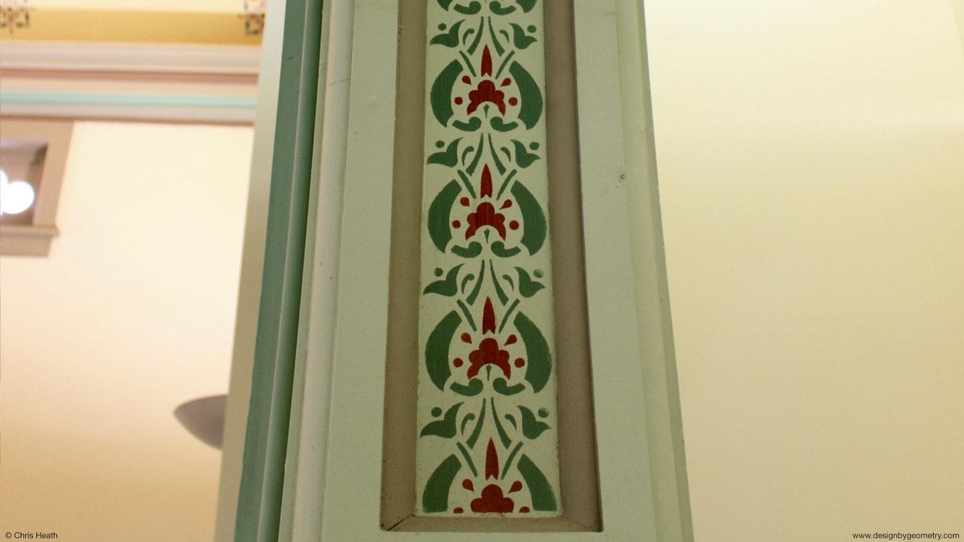 Stencilled Arch