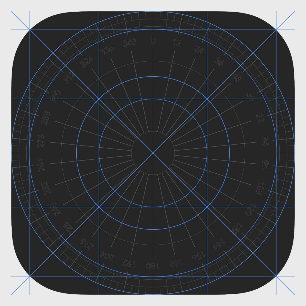 iOS Icon Grid